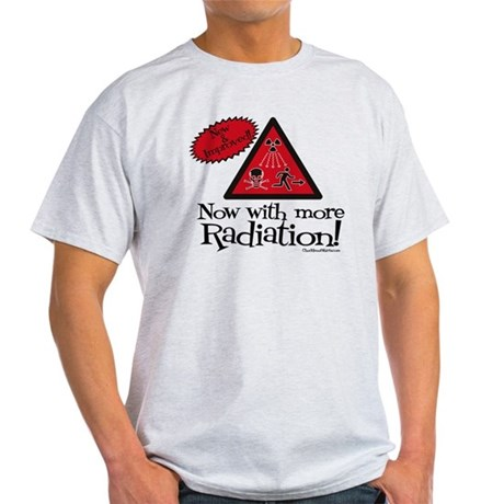 Now with more Radiation Shirt Light T-Shirt