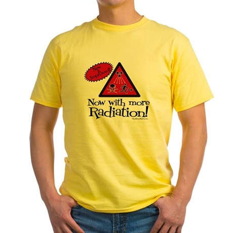 Now with more Radiation Shirt Yellow T-Shirt