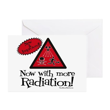 Now with more Radiation Shirt Greeting Cards (Pk o