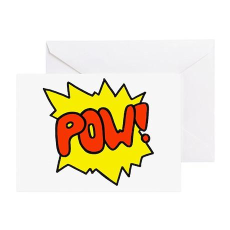 'Pow!' Greeting Card