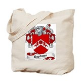 Hepburn Family Crest Tote Bag
