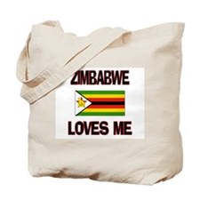 Zimbabwe Loves Me Tote Bag