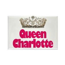 Queen Charlotte Rectangle Magnet