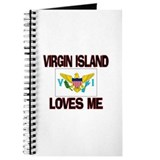 gin Island Loves Me Journal
