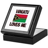 Vanuatu Loves Me Keepsake Box