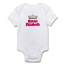 Queen Elizabeth Infant Bodysuit