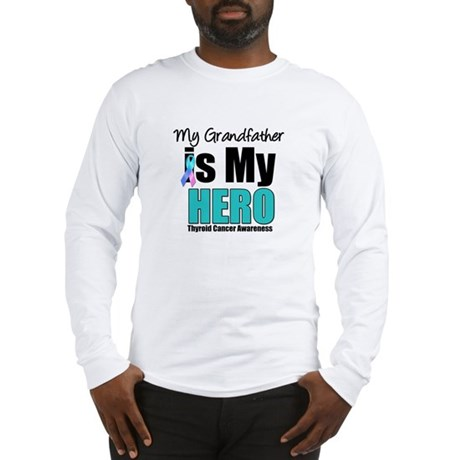 Thyroid Cancer Hero Long Sleeve T-Shirt