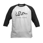 Join or Die Kids Baseball Jersey