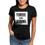 Big Bear Butt Women's V-Neck Dark T-Shirt