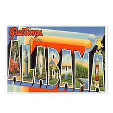 Alabama AL Postcards (Package of 8)