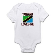 Tanzania Loves Me Infant Bodysuit