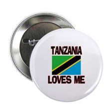 "Tanzania Loves Me 2.25"" Button (10 pack)"