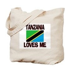Tanzania Loves Me Tote Bag