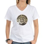 U.S. Forest Ranger Women's V-Neck T-Shirt