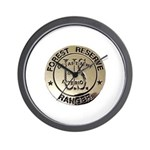 U.S. Forest Ranger Wall Clock