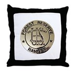 U.S. Forest Ranger Throw Pillow