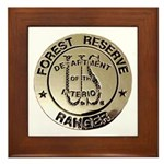 U.S. Forest Ranger Framed Tile