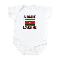 Suriname Loves Me Infant Bodysuit