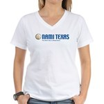 NAMI Texas Women's V-Neck T-Shirt