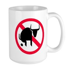 Large No BS Coffee Mug
