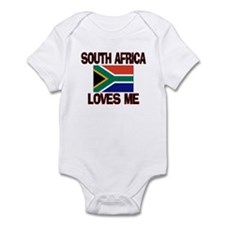 South Africa Loves Me Infant Bodysuit