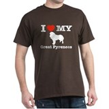 I love my Great Pyrenees T-Shirt