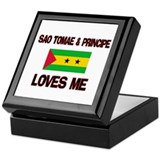 Sao Tomae & Principe Loves Me Keepsake Box