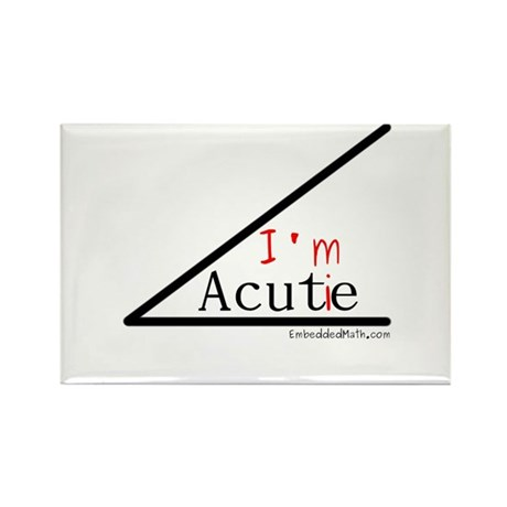 I'm a cutie - Rectangle Magnet (100 pack)