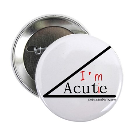 "I'm a cutie - 2.25"" Button (100 pack)"