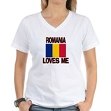 Romania Loves Me Shirt