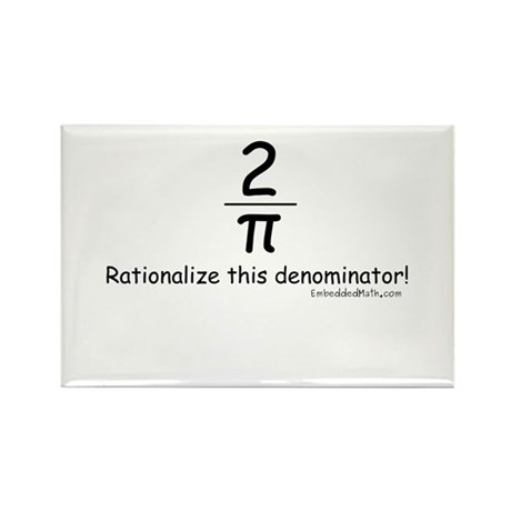 Rationalize This - Rectangle Magnet (100 pack)