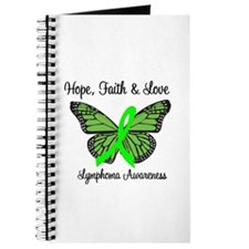 Lymphoma Hope Butterfly Journal