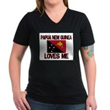 Papua New Guinea Loves Me Shirt
