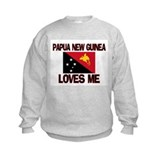 Papua New Guinea Loves Me Sweatshirt