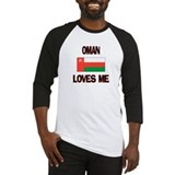 Oman Loves Me Baseball Jersey