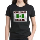 Norfolk Island Loves Me Tee