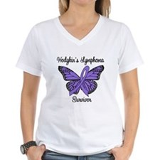 Hodgkin's Survivor Butterfly Shirt