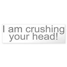 Crush Bumper Sticker (10 pk)