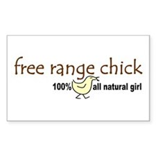 Free Range Chick (2008) Rectangle Sticker 50 pk)