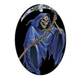 Grimreaper Oval Ornament