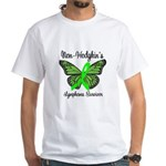 Non-Hodgkin's Survivor White T-Shirt