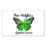Non-Hodgkin's Survivor Rectangle Sticker 10 pk)