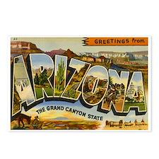 Arizona AZ Postcards (Package of 8)