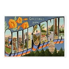California CA Postcards (Package of 8)
