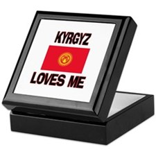 Kyrgyz Loves Me Keepsake Box