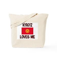 Kyrgyz Loves Me Tote Bag