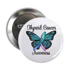 "Thyroid Cancer Awareness 2.25"" Button"