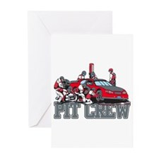 Pit Crew Greeting Cards (Pk of 20)