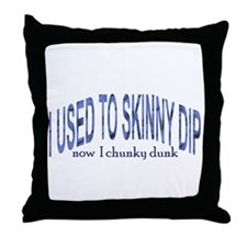 Skinny Dip Throw Pillow