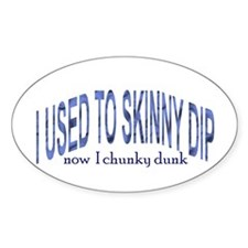 Skinny Dip Oval Decal